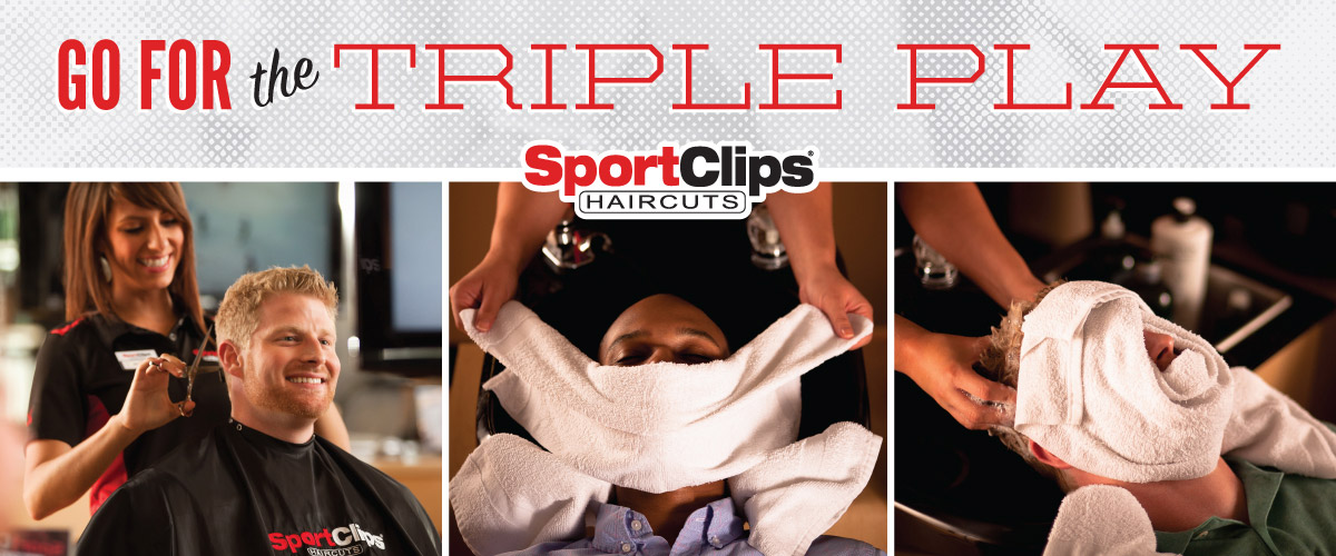The Sport Clips Haircuts of South County Triple Play